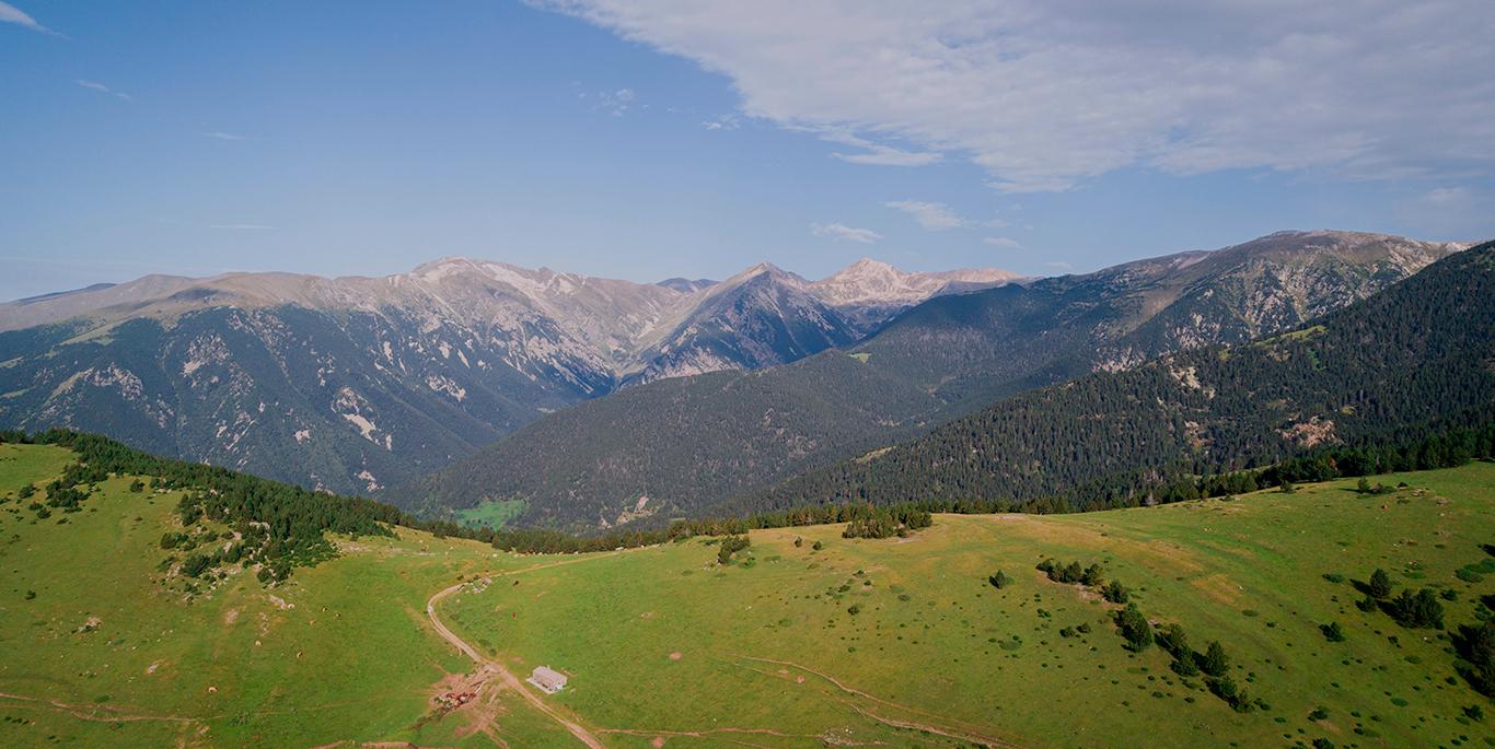 Vistes del pirineu